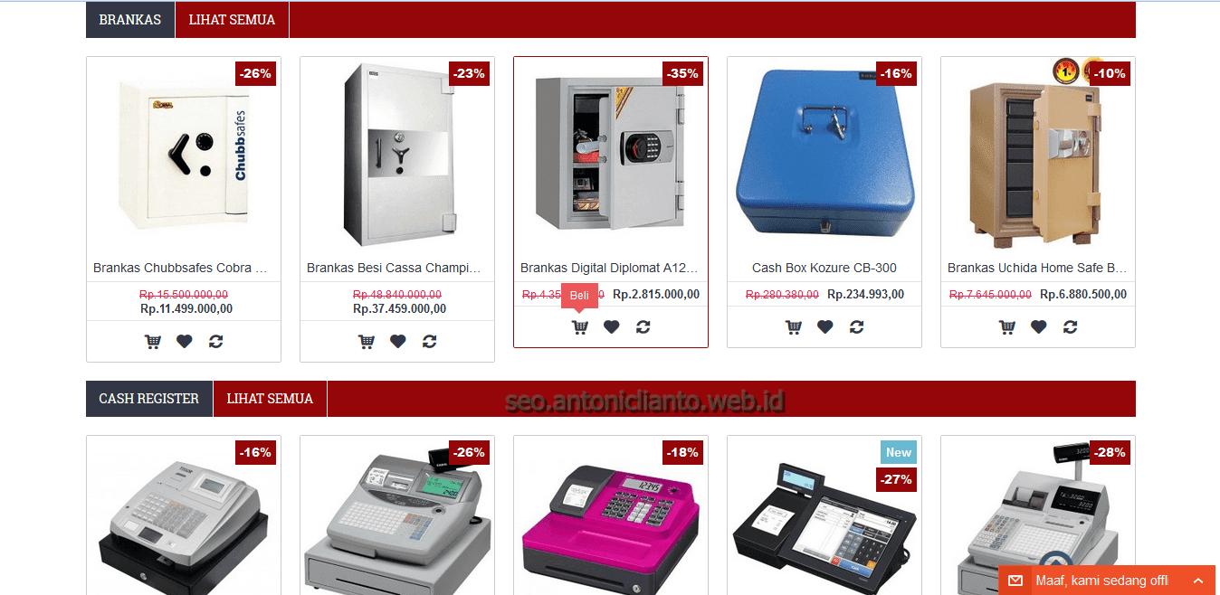 Belanja Online Peralatan dan Perlengkapan Kantor