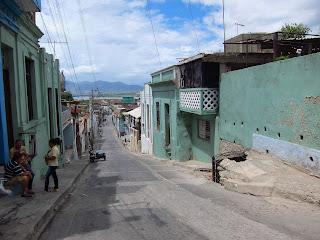 Santiago de Cuba street San Basilio