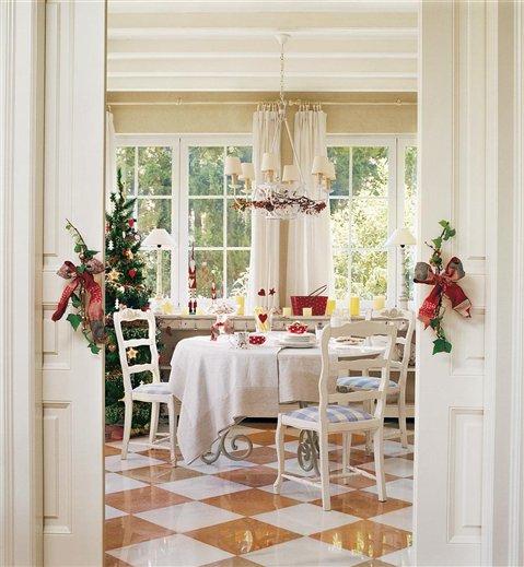 Idehadas interior design la navidad en el mueble for El mueble casas rusticas