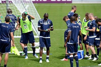allenamento nazionale euro 2012