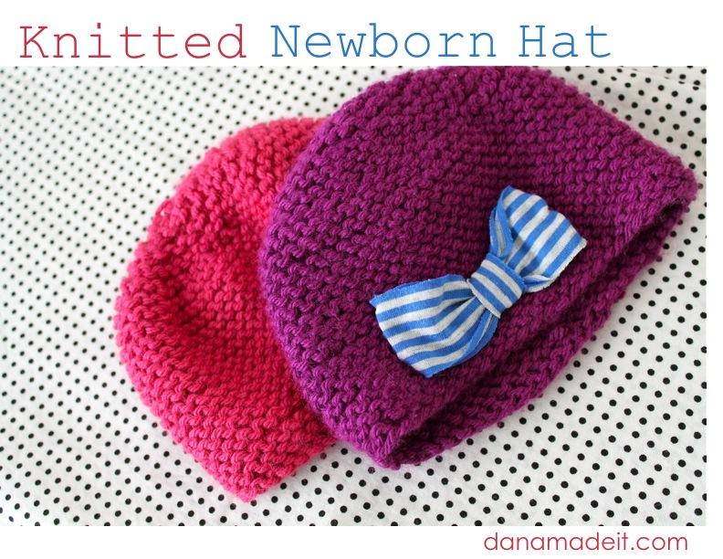 Knit Newborn Hat Made Everyday