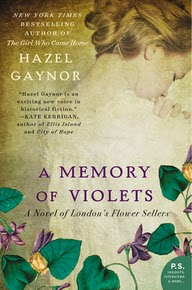 THE GIRL WHO CAME HOME Author Returns with A MEMORY OF VIOLETS