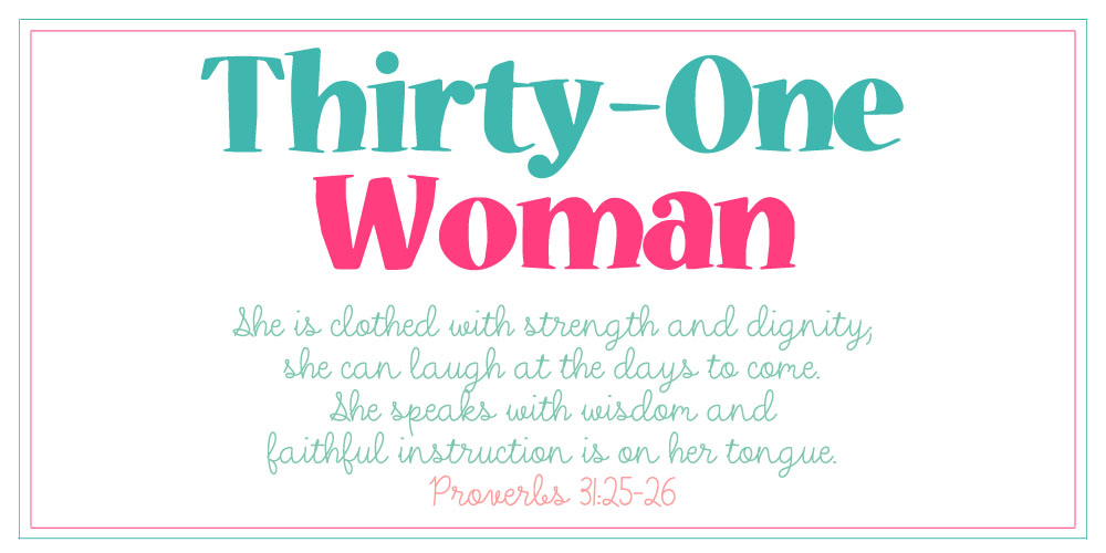 Thirty-One Woman
