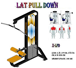 Lat Pull Down Black