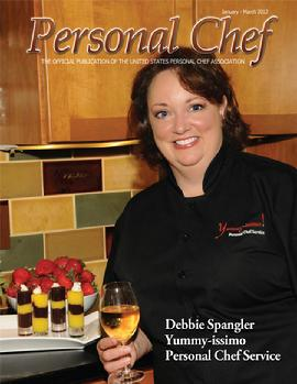 Chef Debbie on the Cover of PC Magazine 07~12