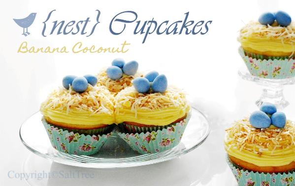 nest cupcake