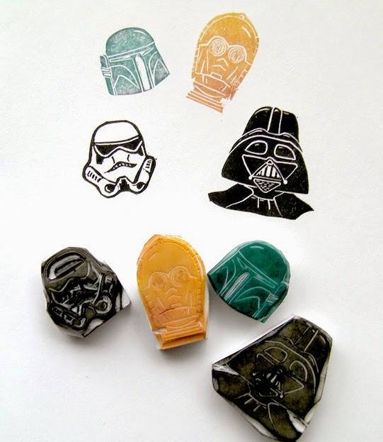 Sellos carvado Star Wars