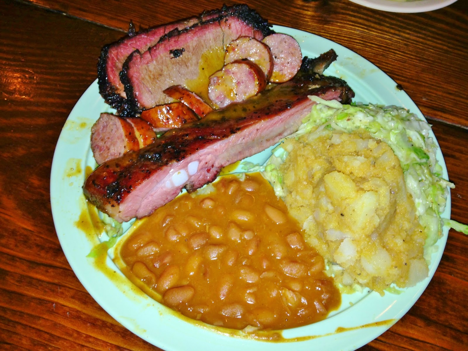 Thurman's Choice: Brisket, Sausage, Pork Rib