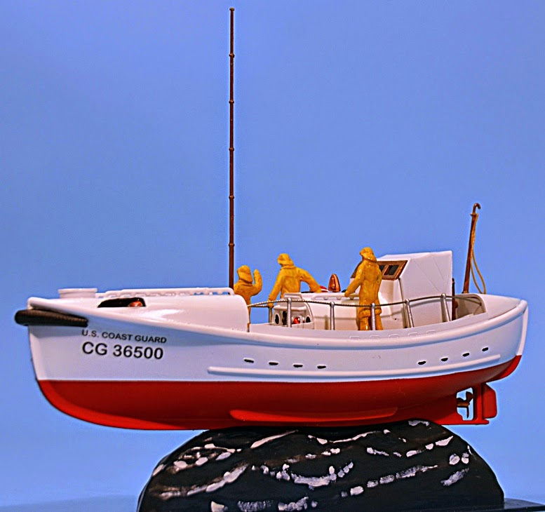 Scale Model News: US COAST GUARD LIFEBOAT BECOMES A MOVIE STAR - AND GLENCOE HAS A 1:48 SCALE ...