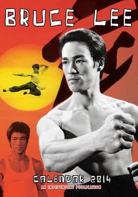 Calendario 2014 Bruce Lee