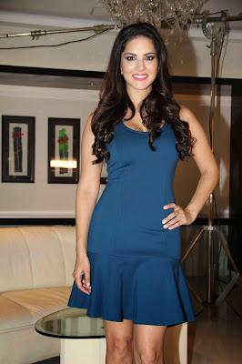 Sunny Leone shoots for MTV's new series 'Webbed'-1