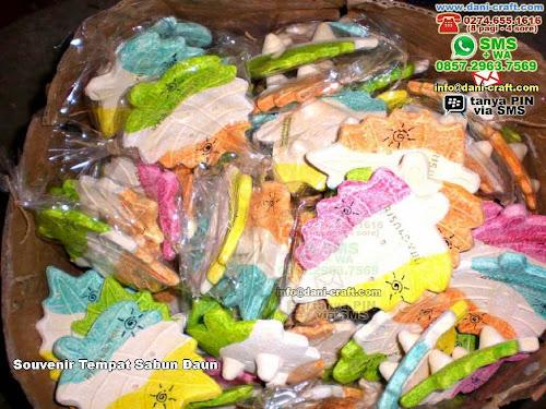 Souvenir Tempat Sabun Daun Clay Jogja