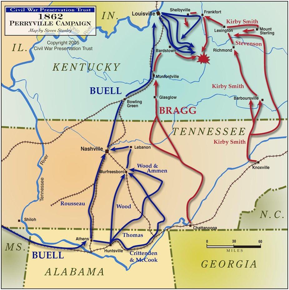 bragg s kentucky campaign 1862 source civil war trust
