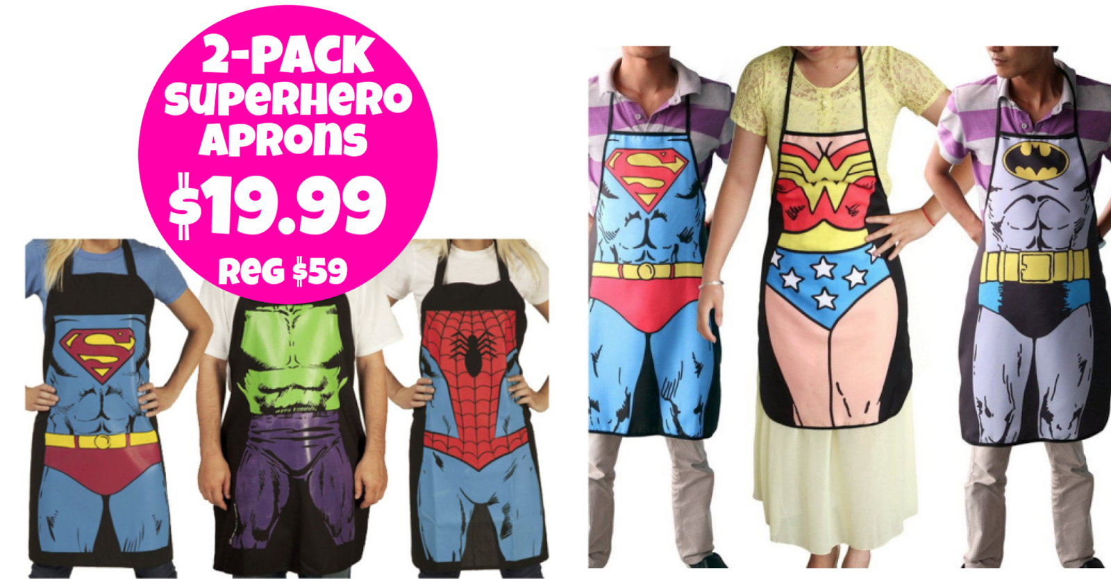 http://www.thebinderladies.com/2015/02/tanga-2-pack-superhero-cooking-aprons.html#.VNLtCIfduyM