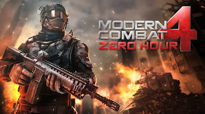 Modern Combat 4 Zero Hour Mod hileli İndir