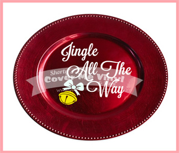 Jingle all the way plate