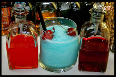 blue angel ice cocktail