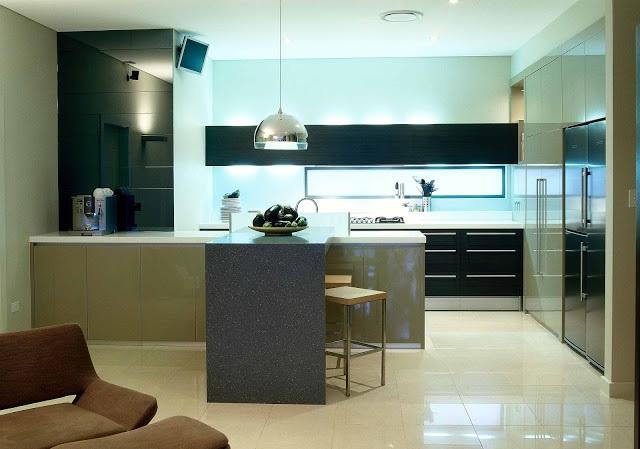 Una cocina sin zonas muertas cocinas con estilo - Disenar tu cocina ...