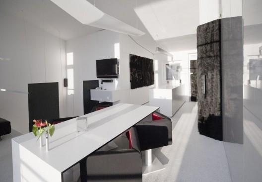 Ideas 2010 11 extravagant loft office minimalist office for Loft office design