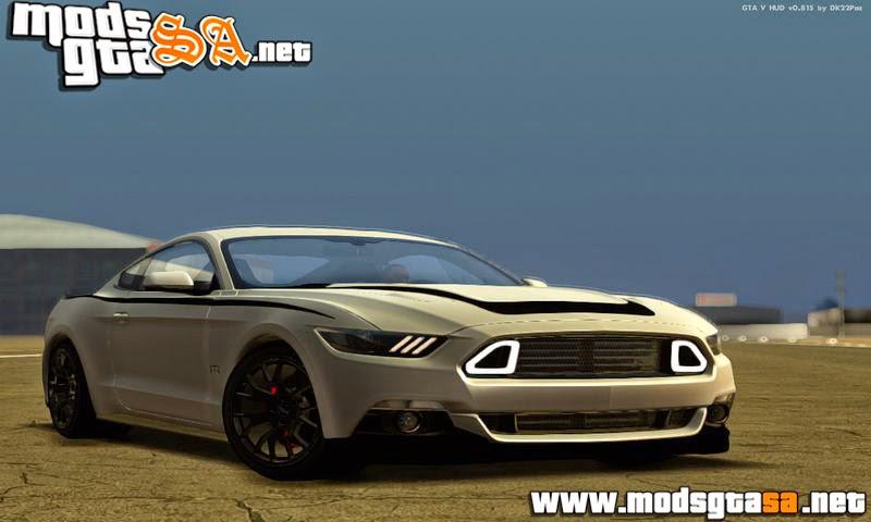 SA - Ford Mustang RTR 2015