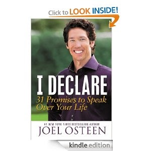 Joel Osteen's I Declare... via Amazon