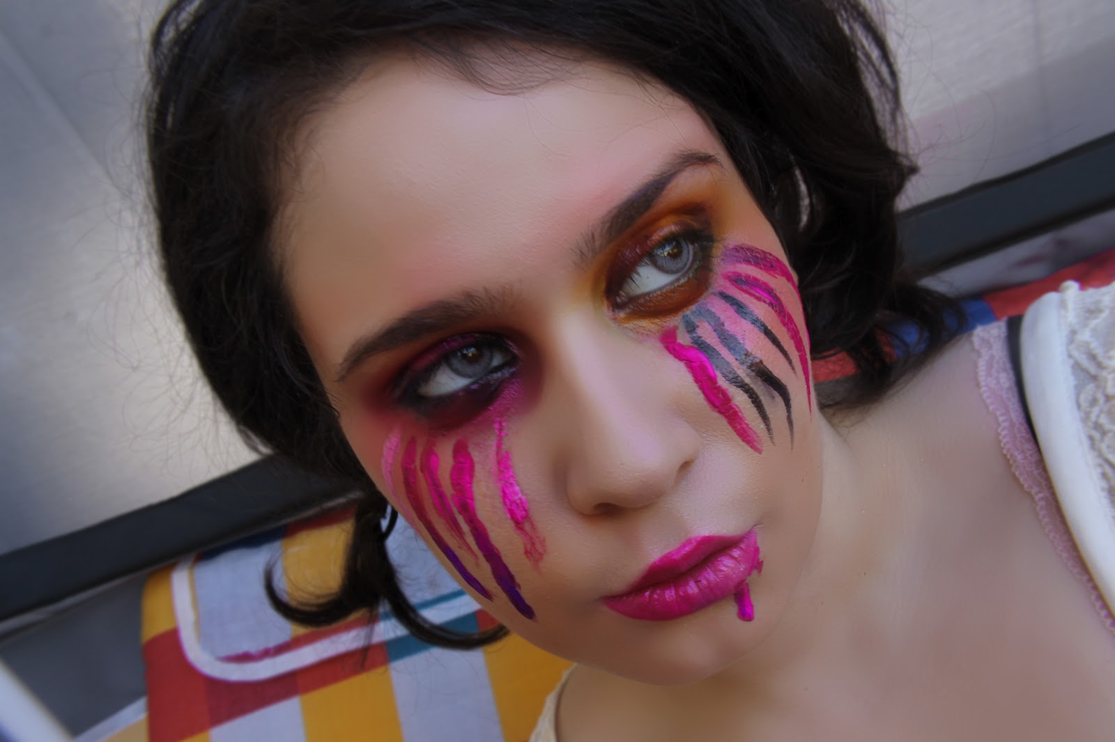 Make up tutorial cherry ode to the bouncer make up look italian make up tutorial cherry ode to the bouncer make up look italian for lacindinas contest baditri Images