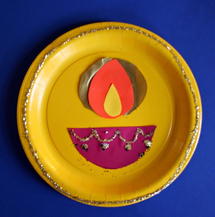 Easy diwali crafts for kids the anamika mishra blog for Art and craft for diwali decoration