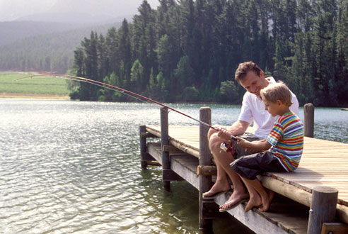 Country pleasures fly fishing happy fathers day for Fish daddy s