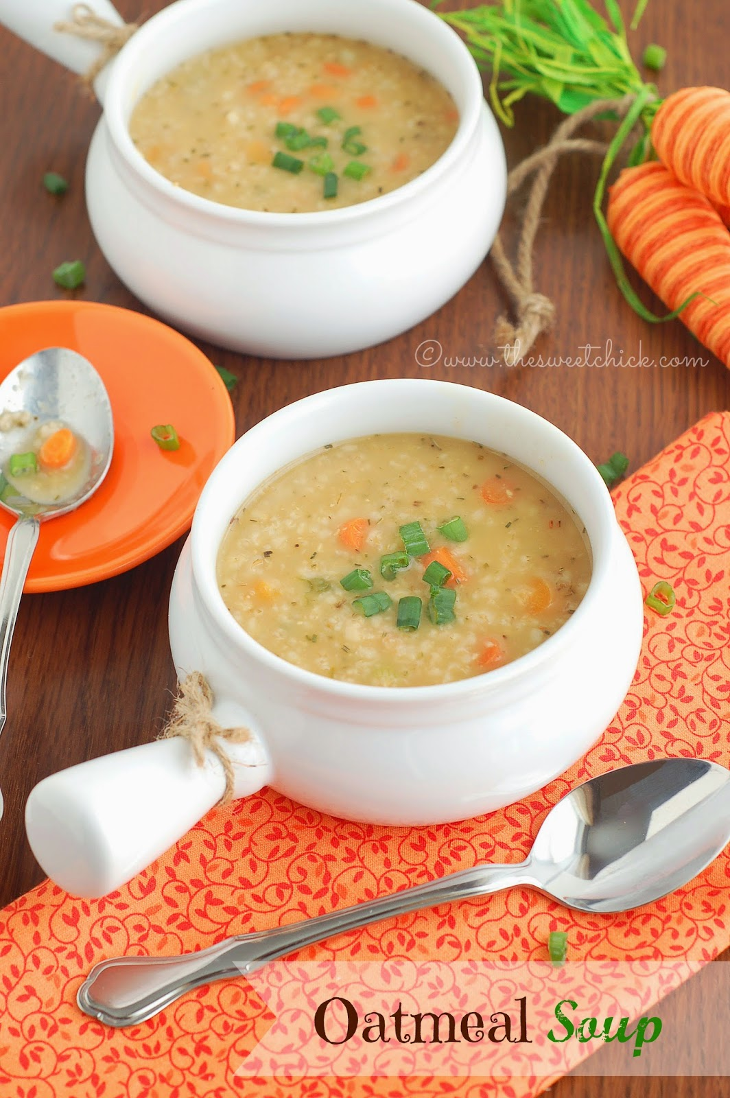 Oatmeal Soup by The Sweet Chick