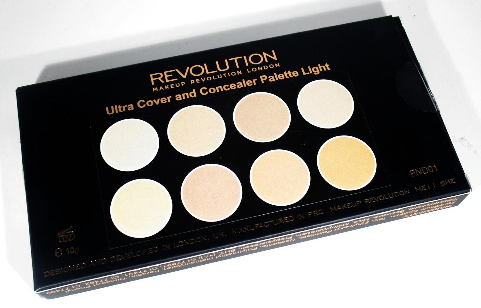 haysparkle makeup revolution ultra cover and conceal. Black Bedroom Furniture Sets. Home Design Ideas