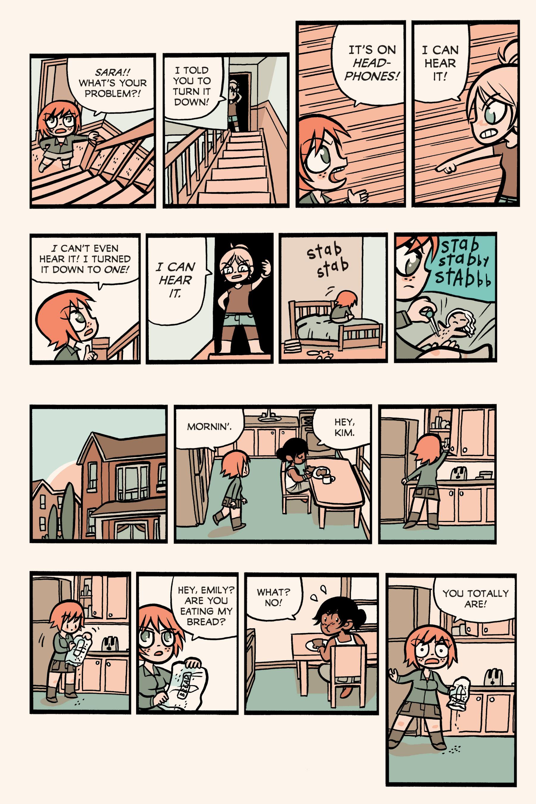 Read online Scott Pilgrim comic -  Issue #3 - 196
