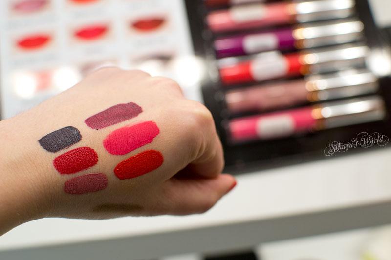 Anastasia Liquid Lipstick swatch