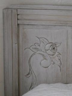 lit patin blanc relook cours peinture d corative meubles peints patin s. Black Bedroom Furniture Sets. Home Design Ideas