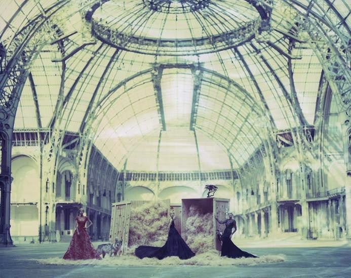 ELIE SAAB Haute Couture by Cathleen Naundorf at the Grand Palais.