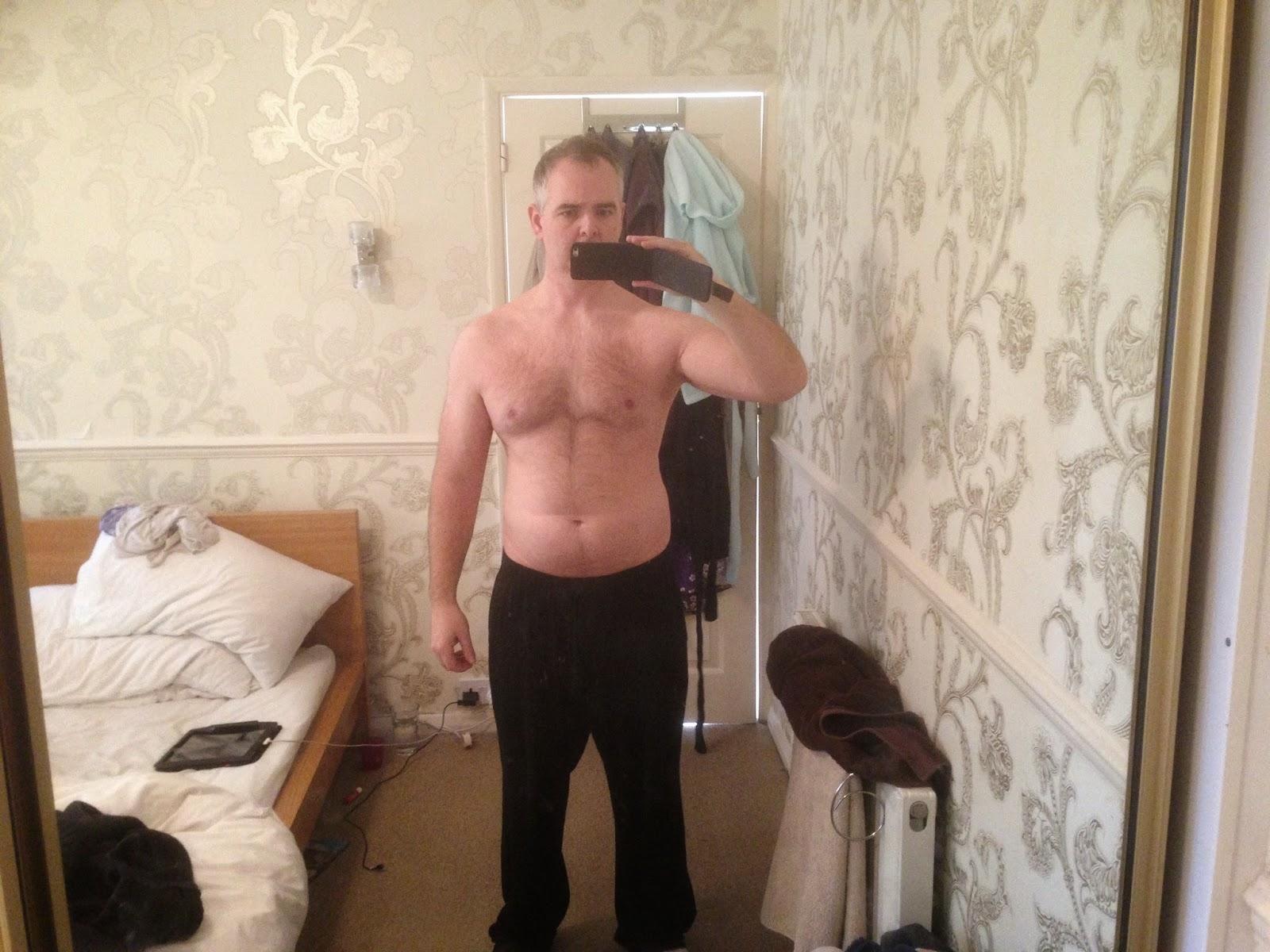 Body tranformation week 1