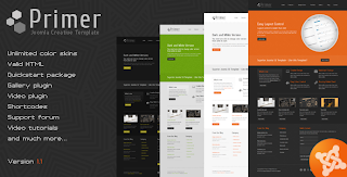 Primer – ThemeForest Creative Joomla Template