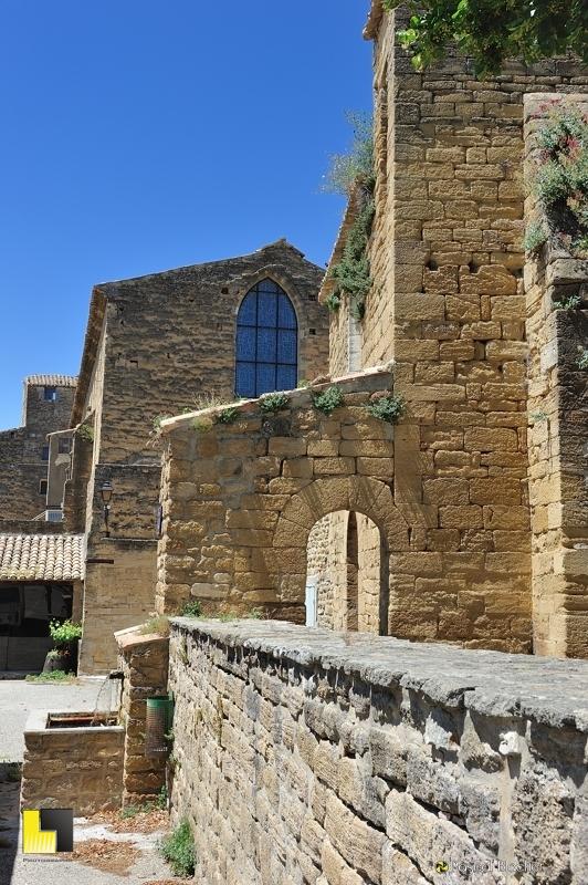 l'abbaye  cistercienne de bouchet photo blachier pascal