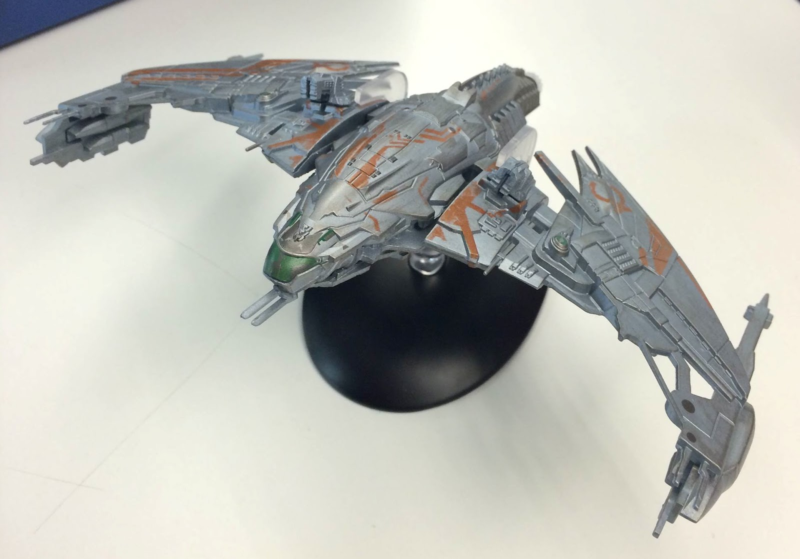 Tmp first look at eaglemoss klingon d4 topic picture publicscrutiny Gallery