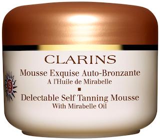 Mousse Exquise Auto-Bronzante de Clarins