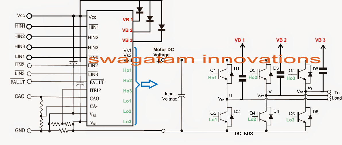 schematic for phase converter dc to ac power supply schematic elsavadorla
