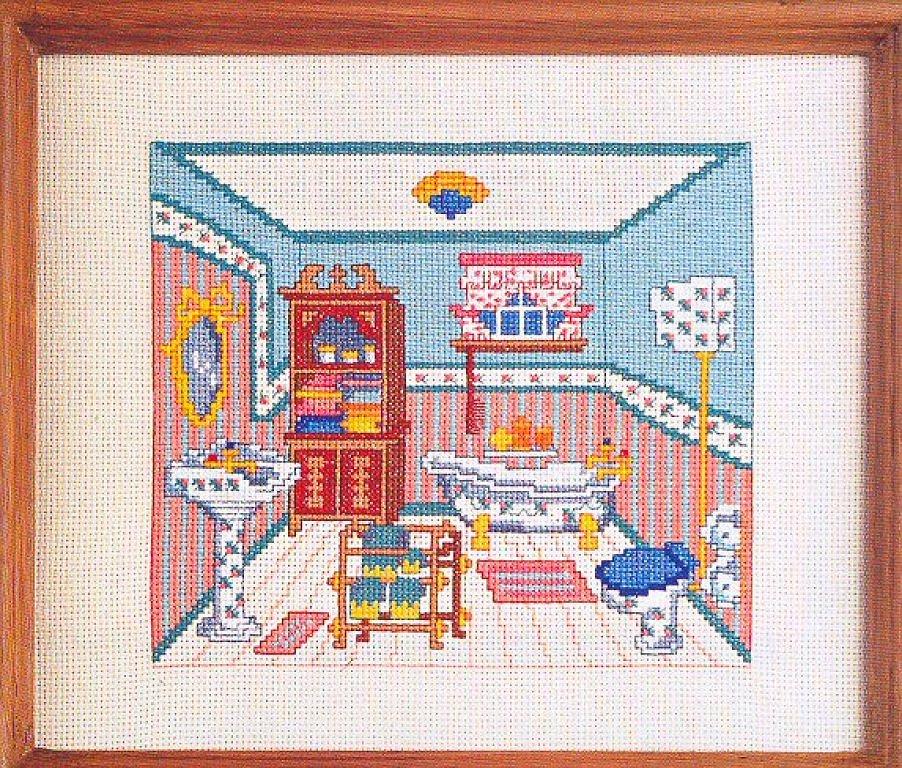 Схемы вышивки: Кухня и ванна.