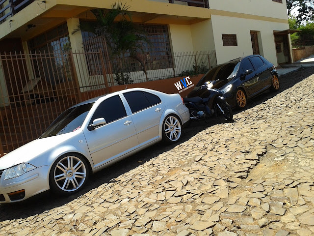307 com rodas do RCZ aro 18""
