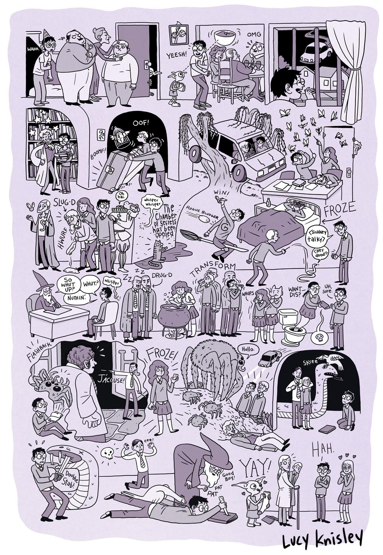 Comics De Los Libros De Harry Potter