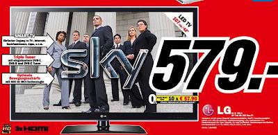 42 Zoll LED-TV LG 42LV470S bei Amazon und Media Markt für 579 Euro