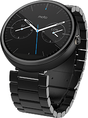 Moto 360 Stainless Steel Black