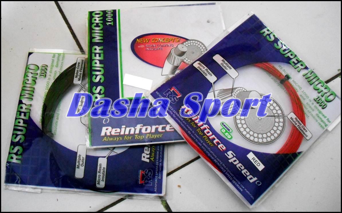 Senar Raket Untuk Bulutangkis Badminton RS Micro Murah