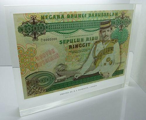 BRUNEI $10,000