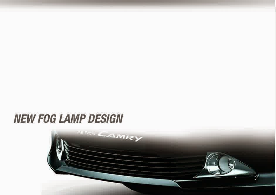 fog lamps toyota camry