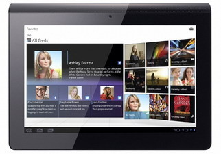 Sony Tablet S Android tablet officially announced