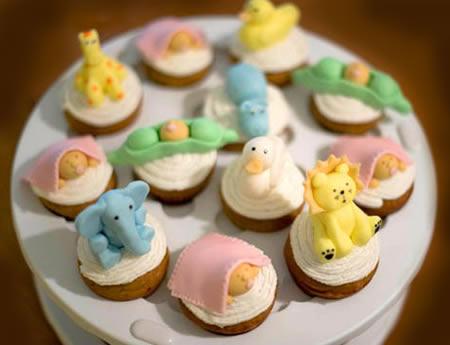 Baby Shower Cupcake Ideas Neutral : cup cake design: Amazing cupcake design